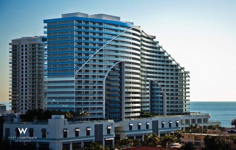 Fachada W Fort Lauderdale