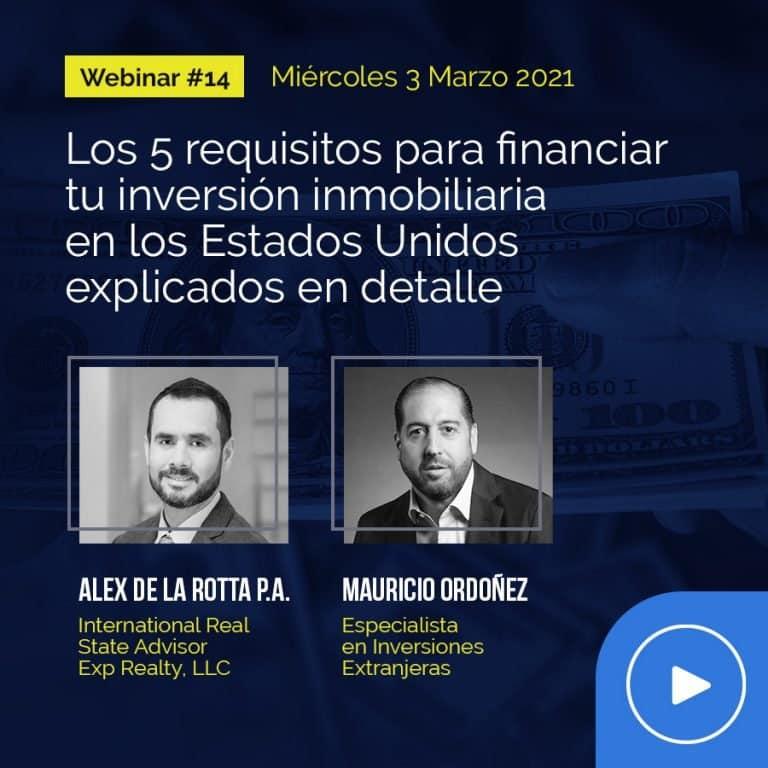 Webinar #14 con Mauricio Ordoñez