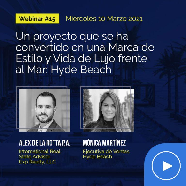 Webinar #15: Invitada Mónica Martínez